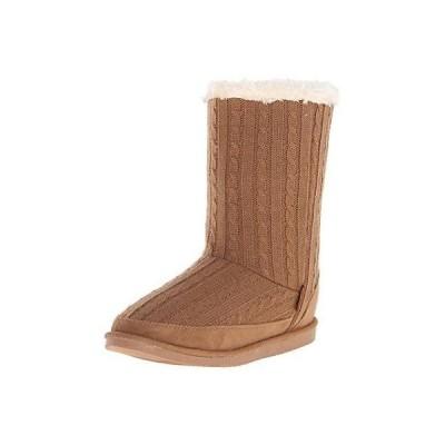 ノースサイド ブーツ 靴 Northside 1819 レディース Teegan ブラウン ニット Mid-Calf カジュアル ブーツ シューズ 9 BHFO