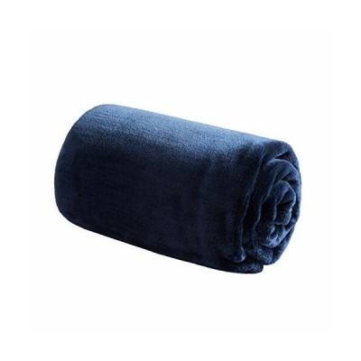 Bedsure 毛布 ひざ掛け ハーフケット ブランケット フランネル 70x100cm シングル おしゃれ プレミアムマイクロフ