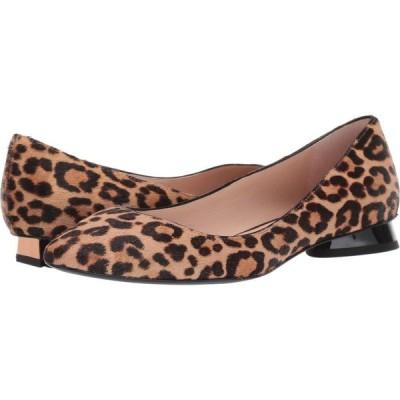 ケイト スペード Kate Spade New York レディース スリッポン・フラット シューズ・靴 Fallyn Natural Leopard