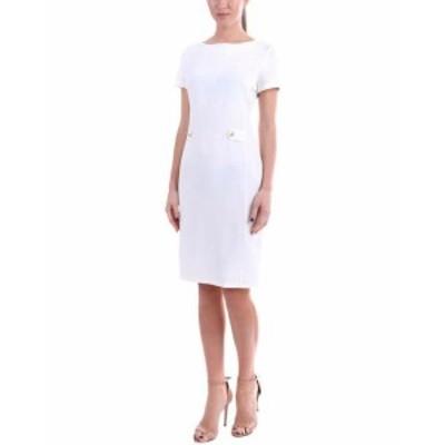 ファッション ドレス Laura Bettini Linen-Blend Dress