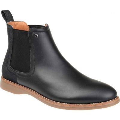 バンス Vance Co. メンズ ブーツ チェルシーブーツ シューズ・靴 Porter Chelsea Boot Black Faux Leather