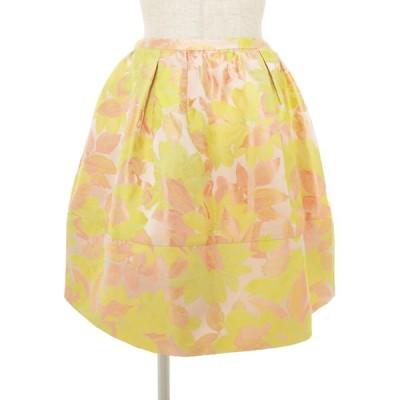 チェスティ スカート フラワー ジャガード 花柄 0