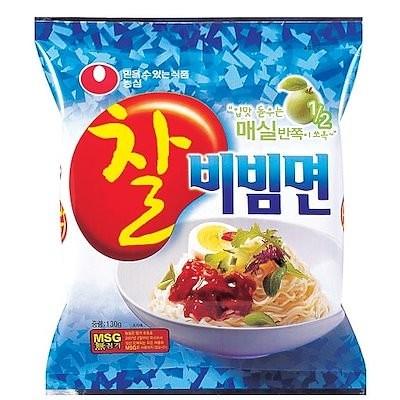 送料無料韓国食品 ノンシン [農心] チャル ビビン麺 (130g*4ea)