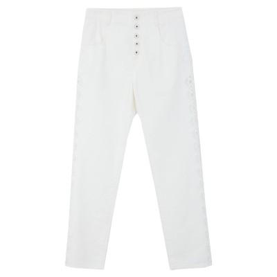 ジョナサン シンカイ JONATHAN SIMKHAI ジーンズ ホワイト 28 コットン 100% / 紡績繊維 ジーンズ