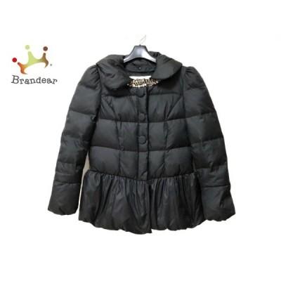 チェスティ Chesty ダウンジャケット サイズ0 XS レディース 黒 ビジュー/冬物    値下げ 20210624
