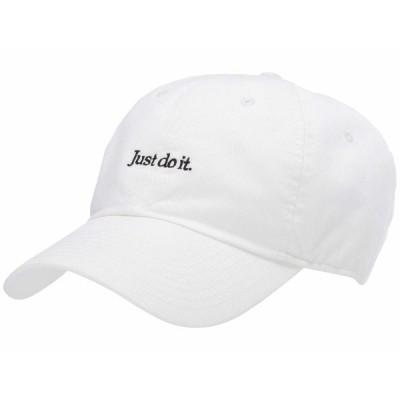 ナイキ 帽子 アクセサリー メンズ H86 Just Do It Washed Cap White/Black