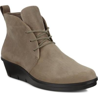 エコー ECCO レディース ブーツ チャッカブーツ シューズ・靴 Skyler Chukka Boot Stone Leather