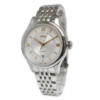 (未使用 展示品)オリス クラシックデイト 自動巻き メンズ 腕時計 01 733 7719 4071-07 8 20 10 箱付