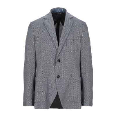 YOON テーラードジャケット ダークブルー 54 コットン 52% / 麻 48% テーラードジャケット