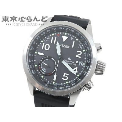 シチズン CITIZEN プロマスター エコドライブ 時計 腕時計 メンズ GPS ソーラー電波 SS ラバー ブラック デイデイト CC3060-10E  101466219