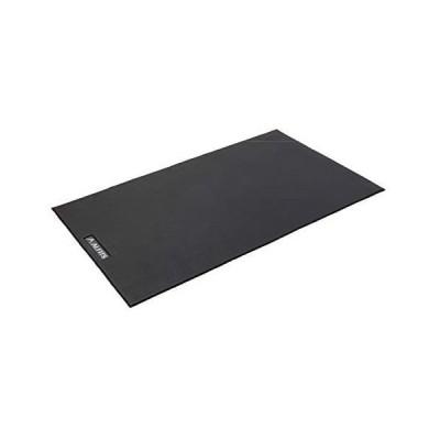 ブラック ALINCO エクササイズフロアマット 床面保護 サイズ調節