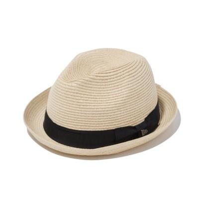 帽子屋ONSPOTZ / ニューエラ フェドラハット GROSGRIAN BAND NEW ERA MEN 帽子 > ハット