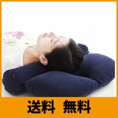 円柱 クッション もっと肩楽寝まくら ストレートネック そば殻矯正枕 枕 頭痛改善 頚椎ヘルニア枕 楽だ寝え 首・頭・肩を優しく支える
