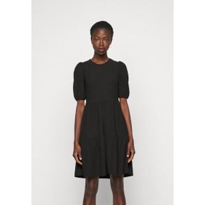 オンリー トール レディース ワンピース トップス ONLNELLA SHORT DRESS - Jumper dress - black black