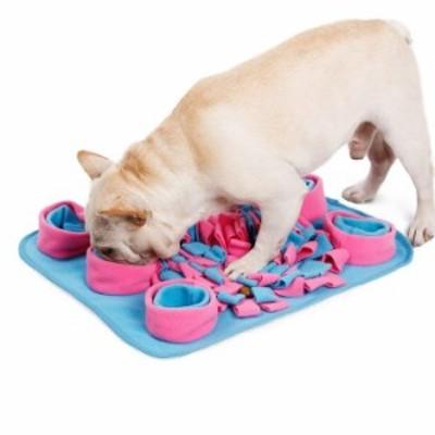 ペット おまちゃ 犬 猫 ノーズワーク 鼻づまり 餌マット 嗅覚活用 遊び場所 訓練毛布 早食い防止 運動不足/ストレス解消 分離不安/食い