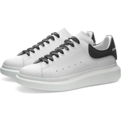 アレキサンダー マックイーン Alexander McQueen メンズ スニーカー ウェッジソール シューズ・靴 rubber patch heel tab wedge sole sneaker White/Black