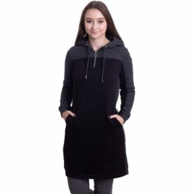 アーバンクラシックス Urban Classics レディース ワンピース ワンピース・ドレス - 2-Tone Black/Charcoal - Dress black