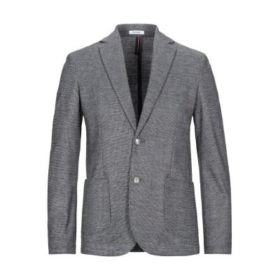 OFFICINA 36 テーラードジャケット スチールグレー 48 ポリエステル 57% / アクリル 39% / ウール 4% テーラードジャケット