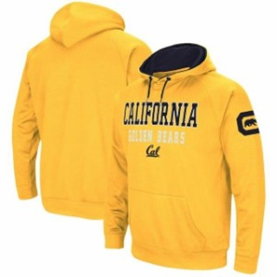 Colosseum コロセウム スポーツ用品  Colosseum Cal Bears Gold Performance Pullover Hoodie