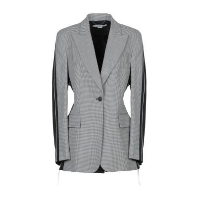 ステラ マッカートニー STELLA McCARTNEY テーラードジャケット ブラック 40 ウール 100% / レーヨン / コットン / シ