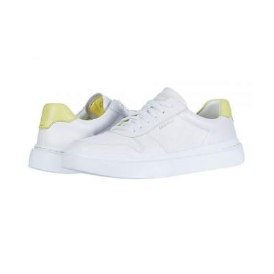 Cole Haan コールハーン レディース 女性用 シューズ 靴 スニーカー 運動靴 Grandpro Rally Court Sneaker - Optic White/Limelight/Optic White