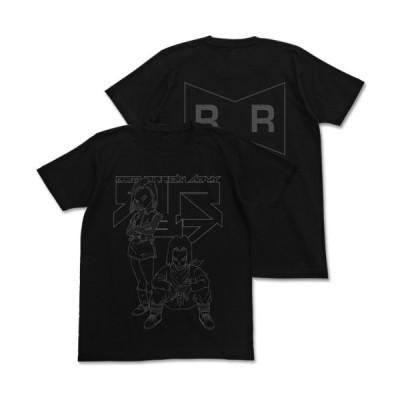 【送料無料対象商品】コスパ ドラゴンボールZ 人造人間17号&18号Tシャツ BLACK 【ネコポス/ゆうパケット対応】