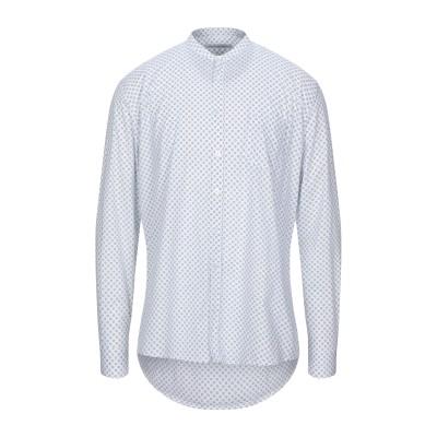 ダニエル アレッサンドリーニ DANIELE ALESSANDRINI シャツ ホワイト 38 コットン 97% / ポリウレタン 3% シャツ