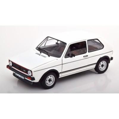 Norev ノレヴ 1/18 ミニカー ダイキャストモデル 1977年モデル フォルクスワーゲン Golf GTI ホワイト  VOLKSWAGEN - GOLF GTI 1977 1:18