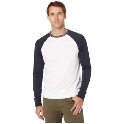 マイケル コース Michael Kors メンズ トップス ラグラン Raglan Baseball Shirt White