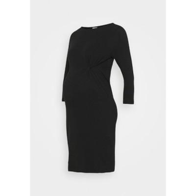 ママリシャス ワンピース レディース トップス MLSIA 3/4 DRESS - Jersey dress - black