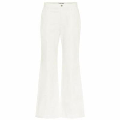 ロエベ Loewe レディース ジーンズ・デニム ボトムス・パンツ High-rise wide-leg jeans White