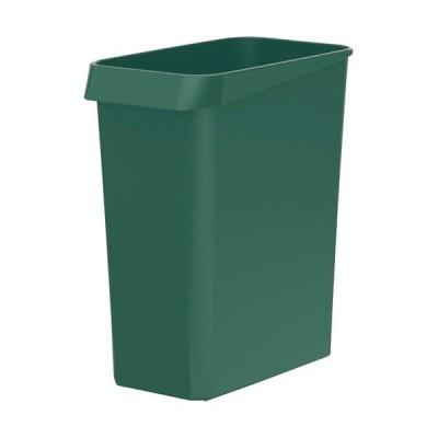 (まとめ)TANOSEE ダストボックス 角型グリーン 1個〔×20セット〕