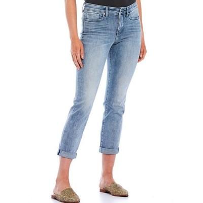 エヌワイディージェイ レディース デニムパンツ ボトムス Sheri Slim Roll-Cuff Ankle Jeans