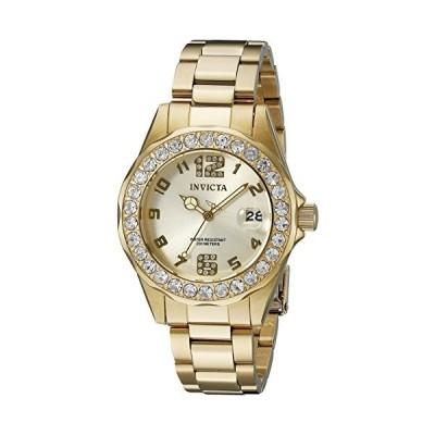 インビクタ Invicta インヴィクタ 女性用 腕時計 レディース ウォッチ プロダイバーコレクション Pro Diver Collection ゴールド 21397