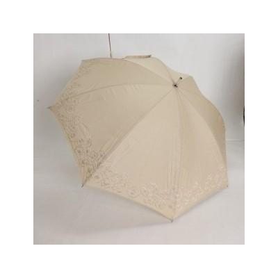 晴雨兼用スライドショート傘 無地 多頭刺繍