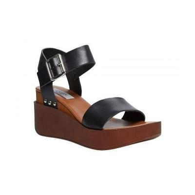 STEVEN NEW YORK スティーブンニューヨーク レディース 女性用 シューズ 靴 ヒール Torie - Black Leather