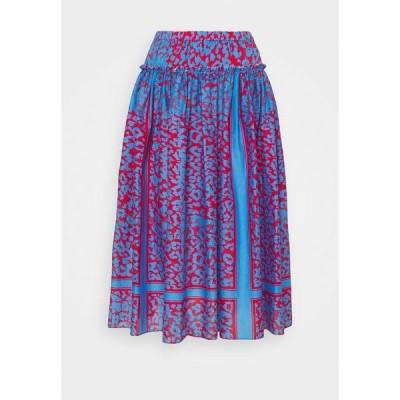 シュテフェン スクラウト スカート レディース ボトムス LOULOU SUMMER SKIRT - A-line skirt - blue
