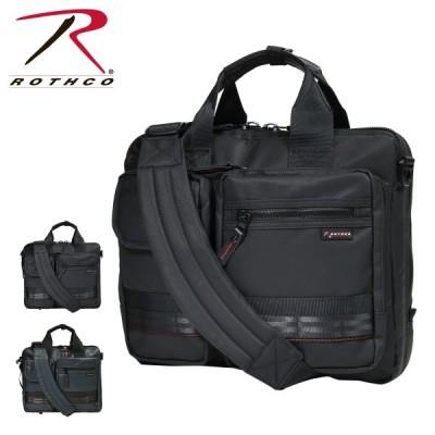 ロスコ ビジネスバッグ 3WAY B4 レッドライン メンズ 45003 ROTHCO | ブリーフケース ビジネスリュック 撥水 大容量