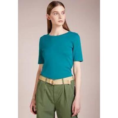 JCREW レディーストップス PERFECT SLIM FIT - Basic T-shirt - vivid jade vivid j