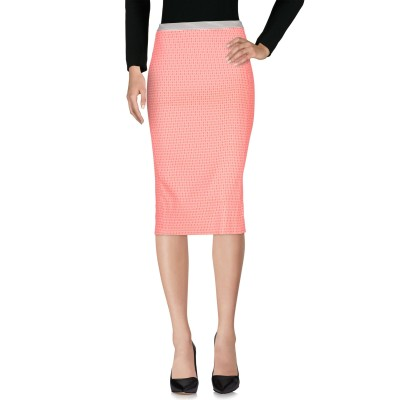 TERESA DAINELLI 7分丈スカート フューシャ 26 ポリエステル 64% / レーヨン 36% 7分丈スカート
