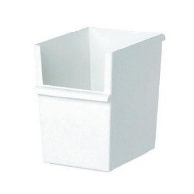 吉川国工業所 JT-04 コンテナースリム 深 ホワイト JUST-IT カラーボックス 収納ボックス インナーボックス 収納ケース  [ 税込5500円以