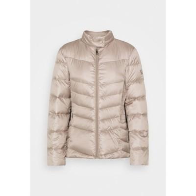 ラルフローレン ジャケット&ブルゾン レディース アウター PEARL SHEEN RACER MOTO SOFT - Down jacket - luxe