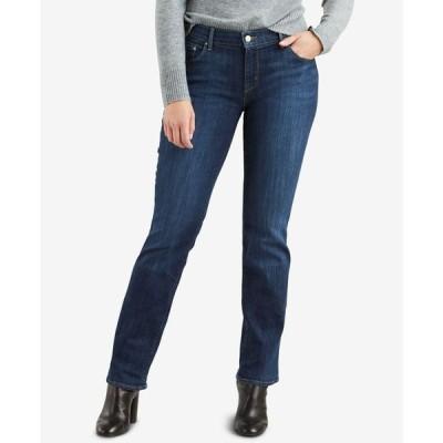 リーバイス レディース デニムパンツ ボトムス Women's 505 Straight-Leg Jeans