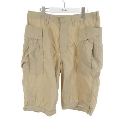 SASSAFRAS Trug Fatigue Pants 1/2 20SS ナイロンパンツ ベージュ サイズ:L (和歌山店) 210504