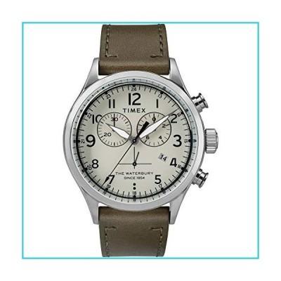 Timex メンズ ウォーターベリー トラディショナル クロノ One Size Olive/Cream【並行輸入品】