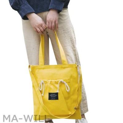 母の日 キャンバスバッグ トートバッグ 2way レディース  ファスナー付き ポケット ベルト長さ調整可能 大容量 多機能 肩掛け 手提げ 可愛い