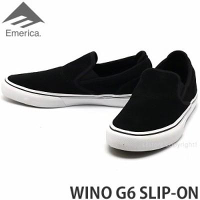 エメリカ WINO G6 SLIP-ON カラー:BLACK/WHITE/GOLD