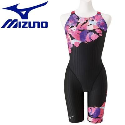メール便送料無料 ミズノ MIZUNO スイム 競泳用 TERAKAWA AYA COLLECTION ハーフスーツ マスターズバック レディース N2MG025196