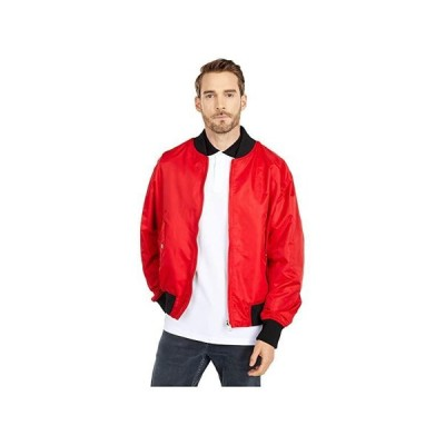 Versace Jeans Couture Leo Chain Print Reversible Nylon Jacket メンズ コート アウター Racing Red