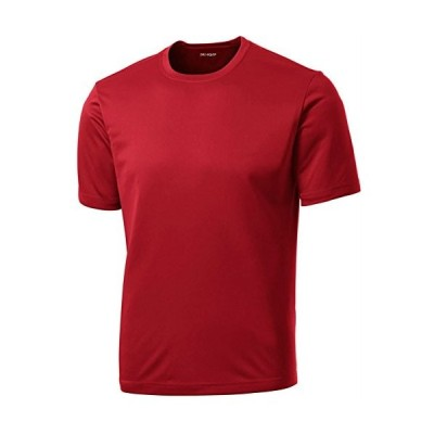 Dri-Equip Youth Athletic All Sport Training Tee Shirt,XL-True Red